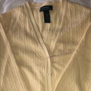 Ralph Lauren sleeveless sweater & cardigan